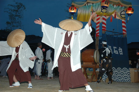 Shiraishi Bon dance Japanese traditional dance