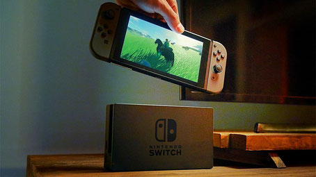 Nintendo Switch mit Dockingstation