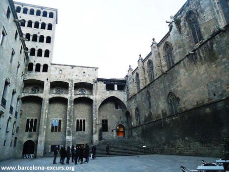 Большой Королевский Дворец, Барселона