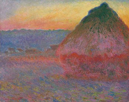 Стога сена - самые известные картины Клода Моне