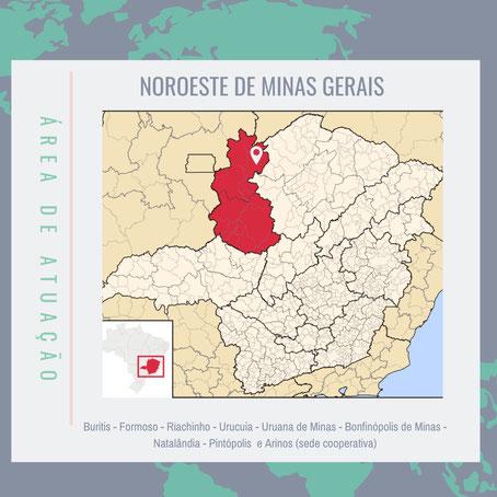 Os 11 municípios da região do Vale do Rio Urucuia ocupam uma área de 27.872 km², no noroeste do Estado de Minas Gerais. Nesta soma está inserida a área do município de Cabeceiras, que fica no Estado de Goiás.