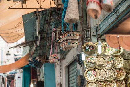 Goldschmied Schmiedearbeit Markt Souk Tunesien Tunis Nabeul
