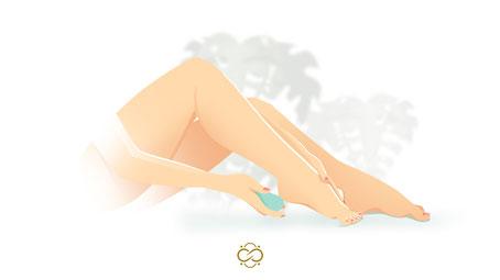 Illustration für Infinity Beauty Pediküre