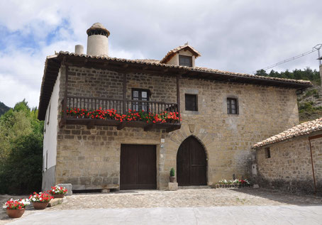 Casa Manchito en Izal (Navarra)