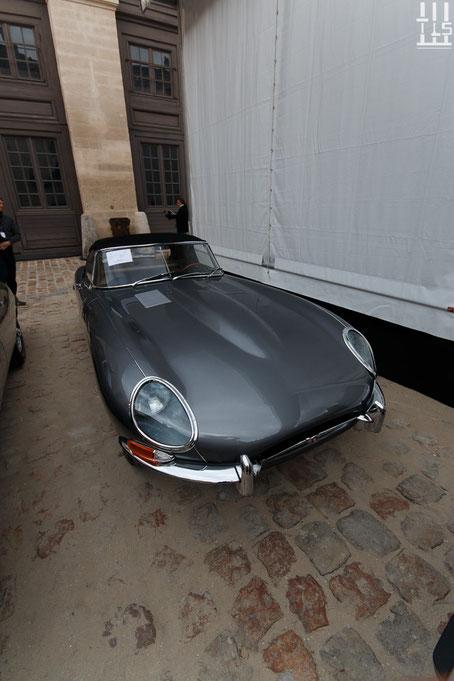 Jaguar Type E «Série 1» 3,8 litres roadster châssis n° 877073