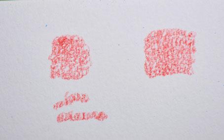 Technique d'application crayons de couleur mouvements circulaires
