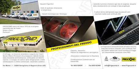 Catalogo Frigocond - foto impaginazione e stampa