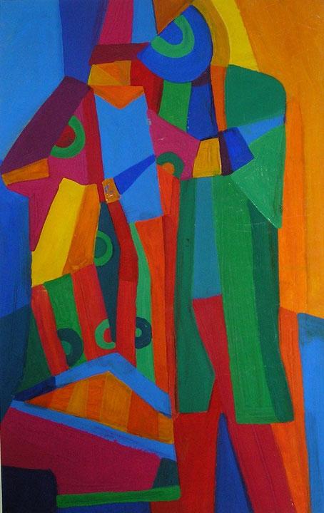Композиция, любовь , декоративная, современная,живопись, гуашь, темпера, Циркина, Богачева, Мария, Tsirkina, Bogacheva,