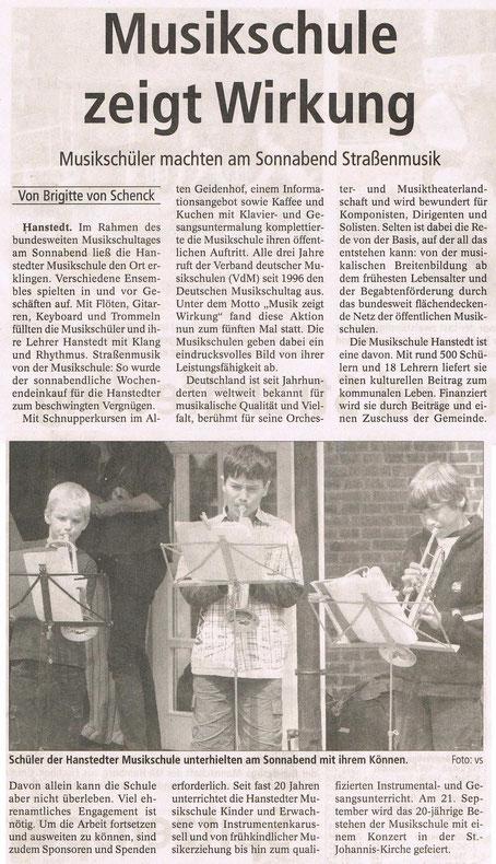 Winsener Anzeiger 16.06.2008