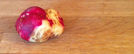 chillfood entdeckt zweifarbige kartoffeln