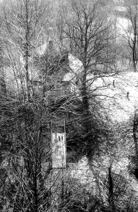 1970 Blick vom Turm