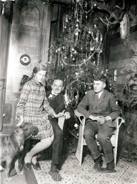 1927 Weihnachten