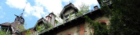 Ruinen der Heilstätten Beelitz