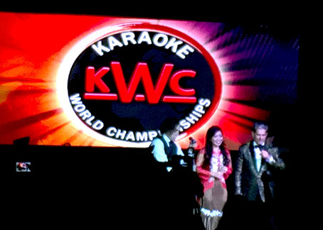 カラオケ 世界大会  Karaoke World Championships  in Singapore