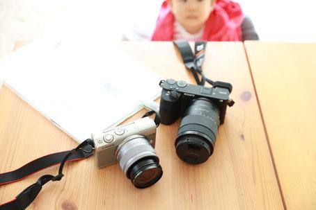 一眼レフカメラ EOS-M100 α6600