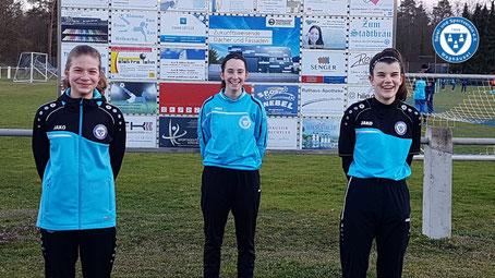 Corona Zwangspause sinnvoll genutzt - drei neue Schiedsrichterinnen beim SSV Waghäusel