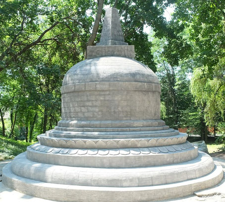 Indonesian stupa in Kiev