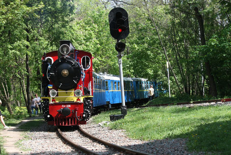 Children's Railway in Kiev