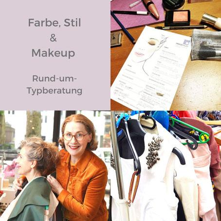 All-Inklusiv-Typberatung mit Farbe, Stil & Makeup-Themen