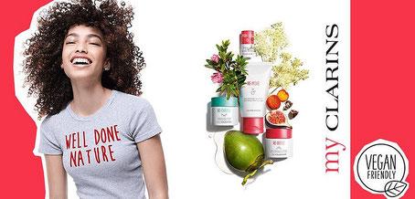 my Clarins, die Gesichtsbehandlung mit veganer Kosmetik