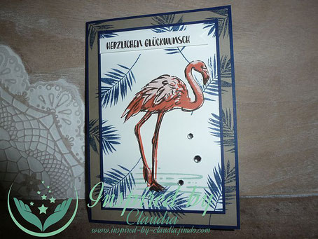 Stampin' Up! Flamingo Fantasie