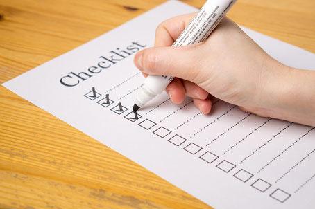Checkliste Viveco