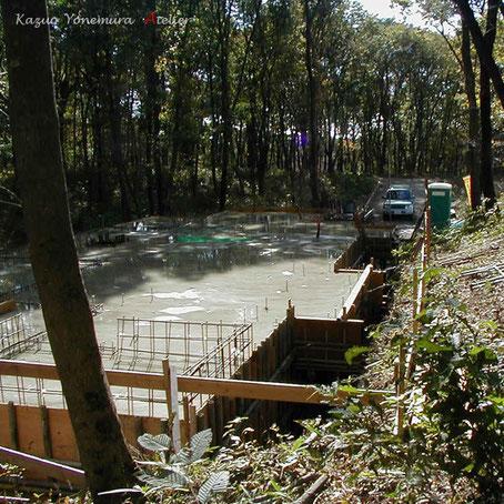 11月7日基礎コンクリート打設
