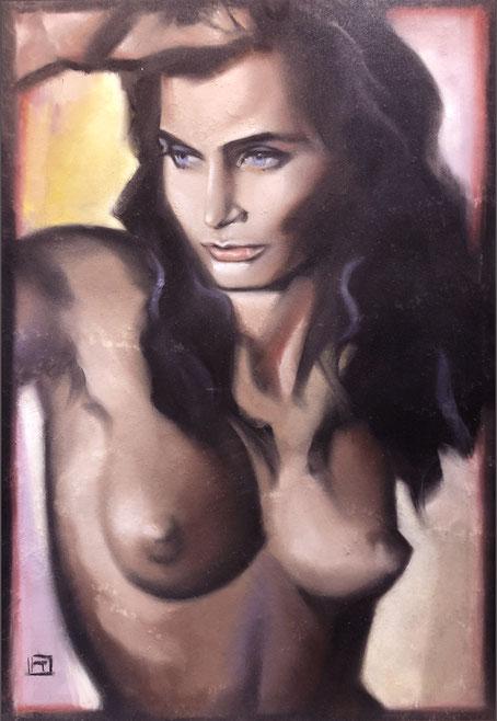 """""""Suzette""""    -  Sea-Witch IV  - 70cm x 50 cm"""