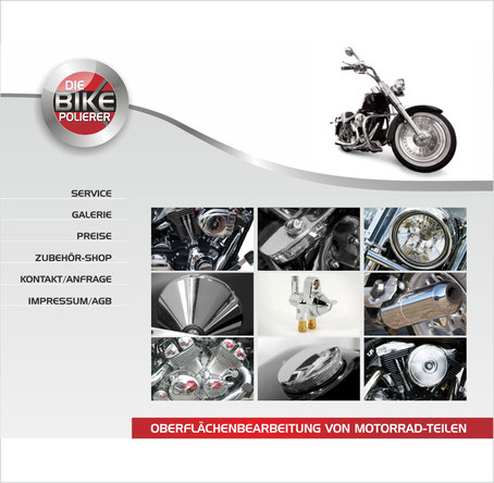 Bike Shop Homepage Rödermark Onlinedesign
