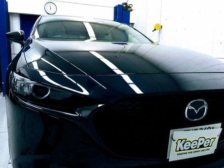 本日ご紹介するのは、【祝新車】 MAZDA3です。
