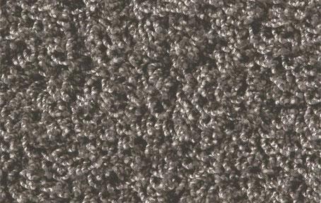 Alfombra de pelo largo color gris frío