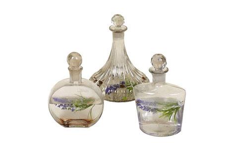 Botella decantador de cristal