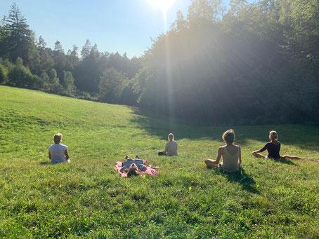 Méditation au soleil