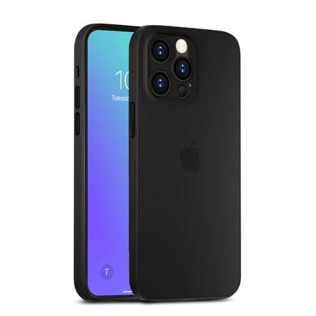 Dünne A&S CASE iPhone 12 Hülle in Stone Grey