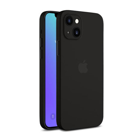 A&S CASE dünne iPhone 13 Hülle in Stone Grey