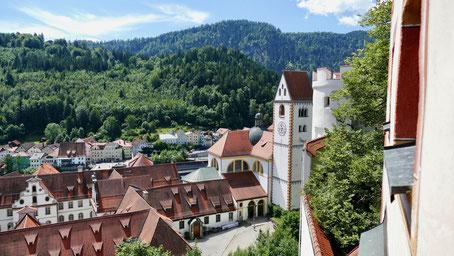 Füssen im Allgäu Kloster st. Mang