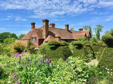 Herrenhaus Great Dixter auf der Gartenreise nach England