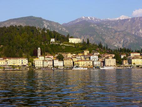 Italien Urlaub: Bellaggio am Comersee