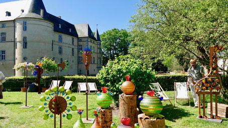 Landpartie Sehenswürdigkeit Deutschland Schloss Adendorf / Bonn