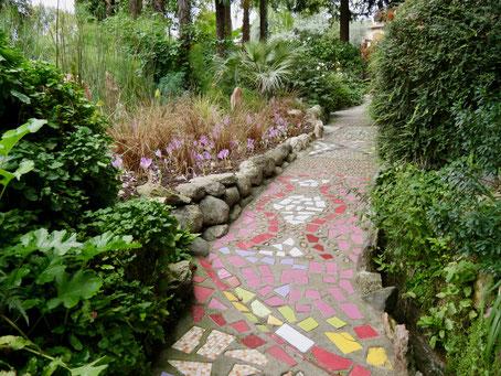 Gartenreise Italien, Andre Heller Garten, Gardasee Gardasee Italien