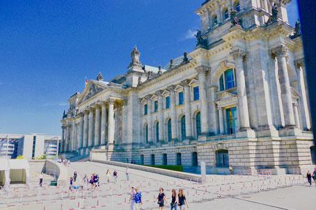 Berlin Reichstagsgebäude Sehenswürdigkeiten von Berlin Regierungsvierel