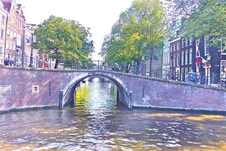 sieben Brücken in Amsterdam Sehenswürdigkeiten in Amsterdam Holland
