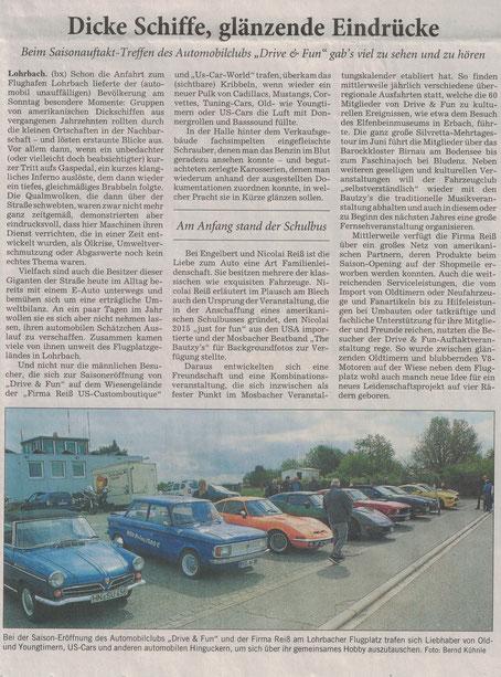 Weitere Infos zu Drive & Fun NOK findet Ihr unter: www.drive-and-fun.net