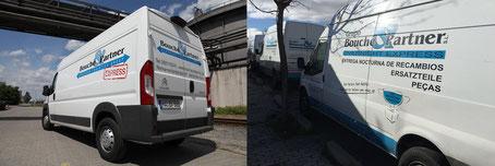 Express-Vans der Bouché & Partner GmbH und der Groupo Bouché & Partner S.L.