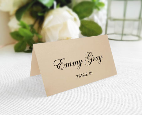 Personalized Wedding Seating Cards