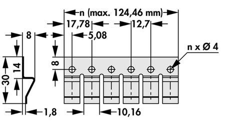 THFM11  1-10連  Fischer Elektronik トランジスタ固定用スプリング