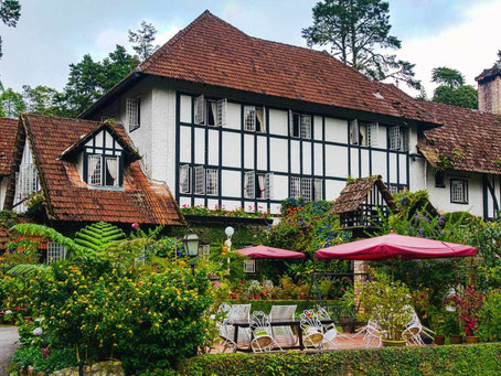 Accommodatie in Engelse stijl in de Cameron Highlands in West-Maleisië