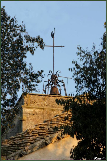 Clocher de l'église Saint Sébastien à Goult, Lubéron - Vaucluse (84)