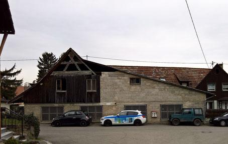 alter Firmensitz am Ortsrand von Buggingen