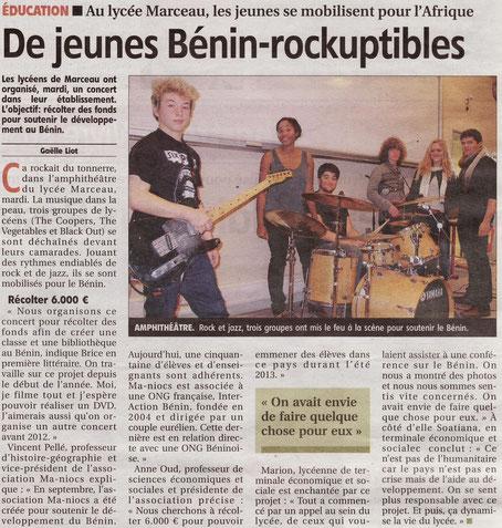 Article paru dans L'Echo le 15 décembre 2011